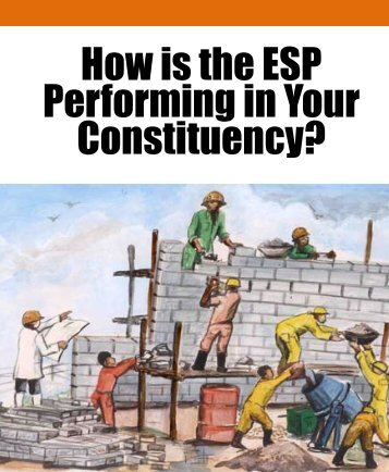 How is the ESP Performing in Your Constituency? - TISA