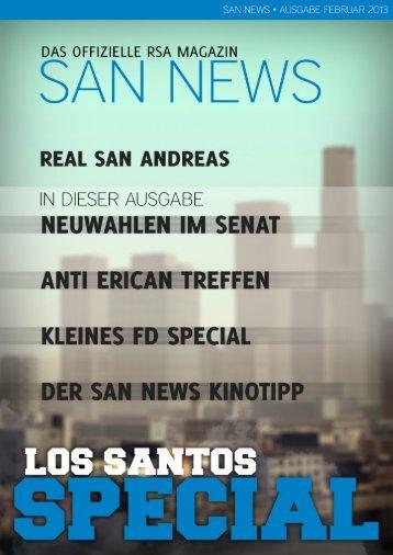 SAN News Ausgabe Februar 2013