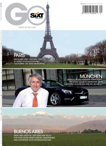 MÜNCHEN BUENOS AIRES PARIS