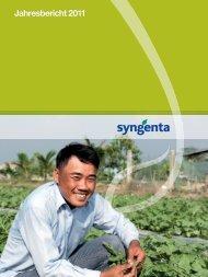 Jahresbericht 2011 - annual report 2011 - Syngenta