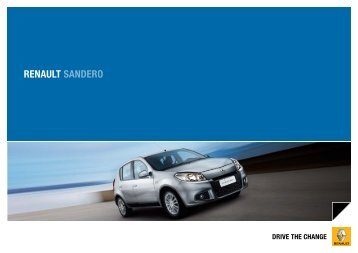 RENAULT SANDERO - Renault Argentina