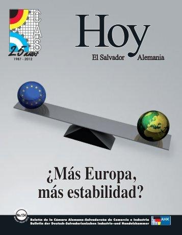 Hoy 134 - AHK El Salvador