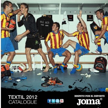 CATALOGO TEXTIL 2012 ok_Maquetación 1 - Football World