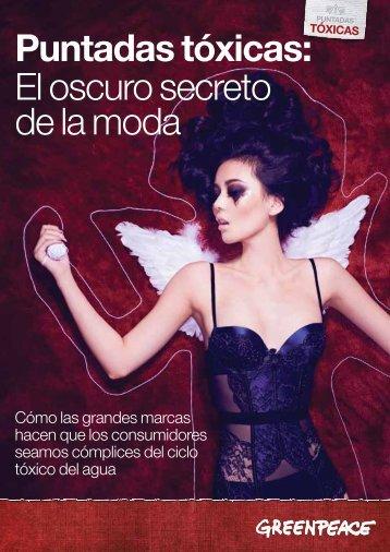 Puntadas tóxicas: El oscuro secreto de la moda - Greenpeace