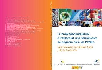 Una guía para la Industria Textil y de - Oficina Española de Patentes ...