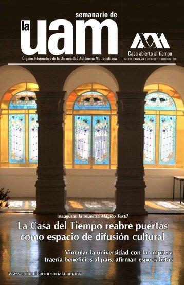 Casa y tiempo - UAM - Universidad Autónoma Metropolitana