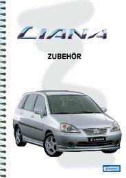 Suzuki Liana Zu - Garage Ruf AG