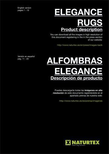 ELEGANCE RUGS ALFOMBRAS ELEGANCE - Naturtex