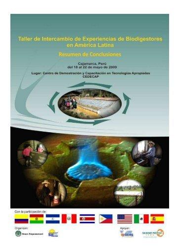 Conclusiones de Taller de Biodigestores _final - Biogas