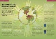 Nur noch kurz die Welt retten - Dr. Sylvester Walch