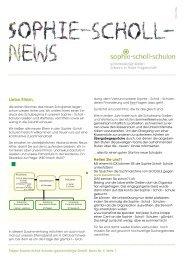 2011-2 Newsletter SSSgGmbHneu - Sophie-Scholl-Schulen
