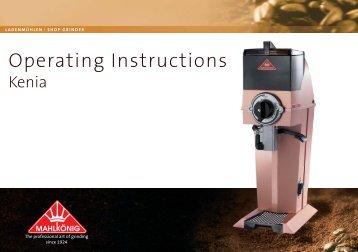Operating Instructions Guatemala.indd - Mahlkönig