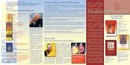 Drolma Publications - Buddhistische Klosterschule Ganden Tashi ...