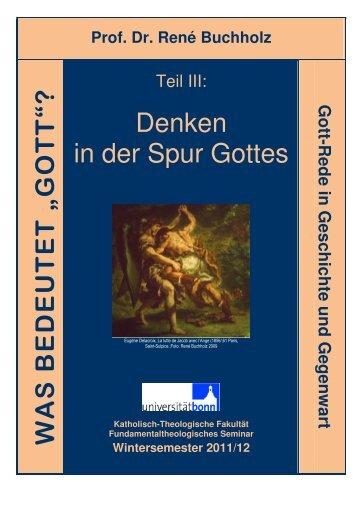 Teil III - Universität Bonn