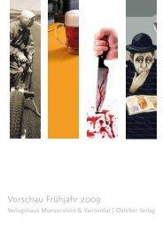 Vorschau Frühjahr 2009 - Ruckzuckbuch