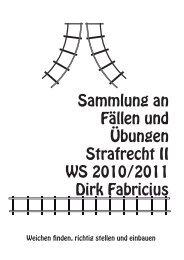 FallsammlungStrII_10.. - Prof. Dr. Dirk Fabricius