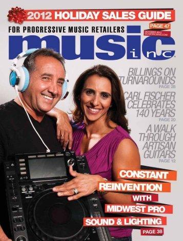 holidaysalesguide - Music Inc. Magazine