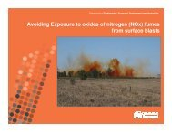 Introduction to fume - Queensland Mining and Safety