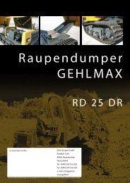 Raupendumper GEHLMAX - Ertl + Tegtmeyer GmbH