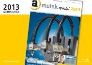Mediadaten motek spezial 2013 - Automation