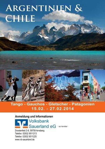 Argentinien & CHILE - Volksbank Sauerland eG