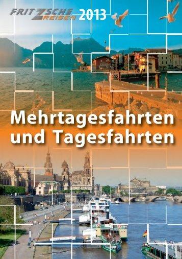 Tagesfahrten - Fritzsche Reisen