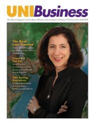 The Road Less Traveled - College of Business Administration ...