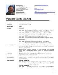 Mustafa Suphi ERDEN - Ensta