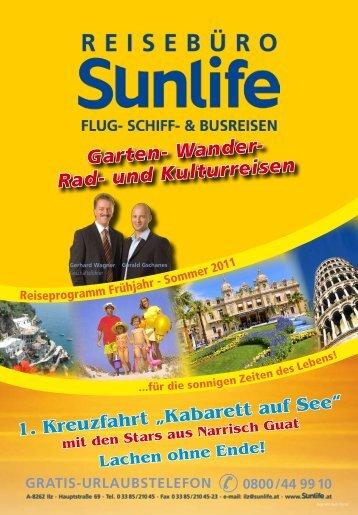 Garten- Wander- Rad- und Kulturreisen - Sunlife Reisebüro ...