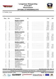 Ergebnisliste Alpin - Skiclub Lenggries eV