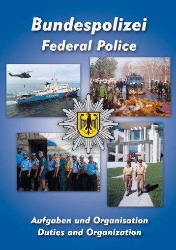 Bundespolizei - Aufgaben und Organisation - SAINT
