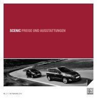 SCENIC PREISE UND AUSSTATTUNGEN - Garage Sigrist AG