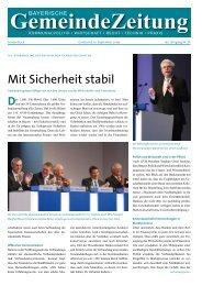 Mit Sicherheit stabil - Genossenschaftsverband Bayern