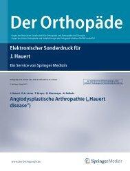 Artikel hier lesen - Dr. med. Jürgen Hauert