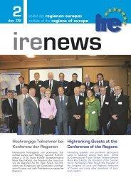 regionen europas - Institut IRE
