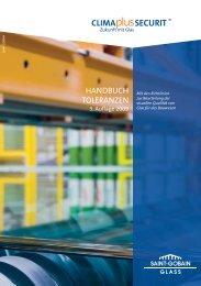 HANDBUCH TOLERANZEN - glassolutions