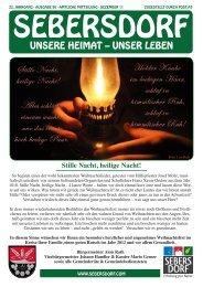 Gemeindezeitung Dezember 2011 - Gemeinde Sebersdorf