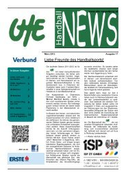 UHE Handball News #17(03/2012) - UHC Eggenburg