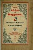 Aus dem Volksleben der Magyaren: ethnologische Mitteilungen - Seite 5