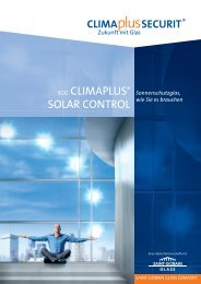 climaplus solar control - RIG Isolierglas-Systeme Regensburg