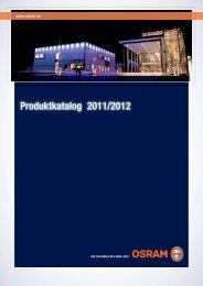 Produktkatalog 2011/2012 - Osram