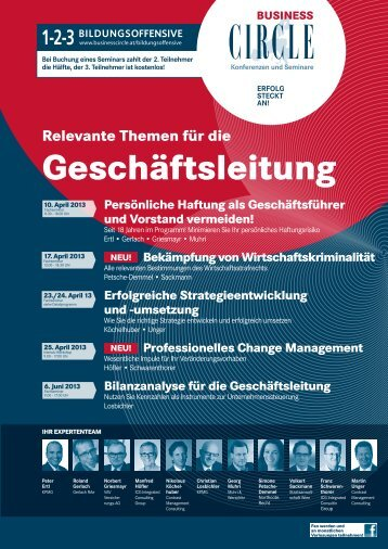 pdf-Broschüre - Business Circle