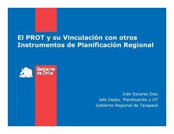 10. el prot y su vinculación con otros - Gobierno Regional de Tarapacá