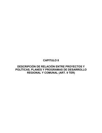 Capítulo 8 - SEA - Servicio de evaluación ambiental