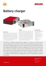Battery charger - Brusa Elektronik AG