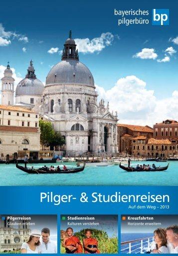 Katalog betrachten - Bayerisches Pilgerbüro