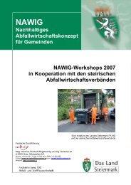 Nachhaltiges Gemeinde Abfallwirtschaftskonzept - Abfall - Steiermark