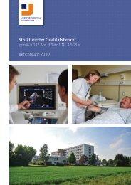 Strukturierter Qualitätsbericht Berichtsjahr 2010 - KTQ