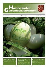 Gemeindezeitung 01-12 (994 KB) - Gemeinde Hainersdorf