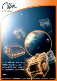 ATTACHMENT CATALOGUE ANBAUTEILE KATALOG ... - attec